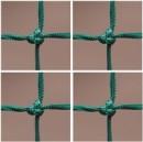 Csomózott háló 5 mm vastag
