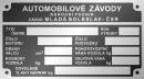 Autó - motor gyártási lemezek