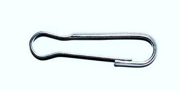 Horganyzott karabiner 6 cm