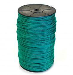 Kötél 4mm-es gurigán, zöld